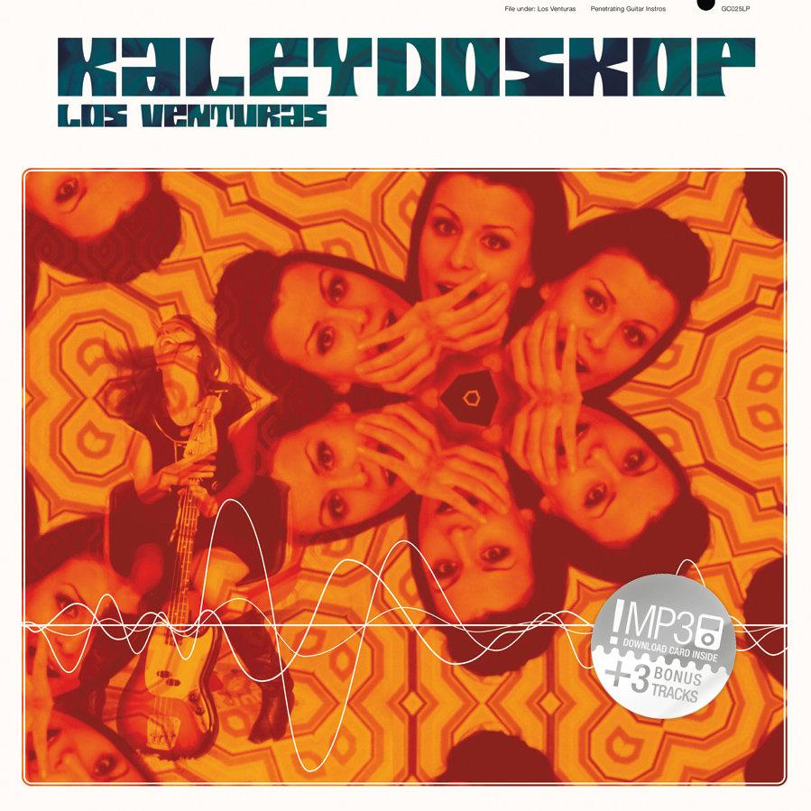 Alum cover of Los Venturas Kaleydoskop with caleidoscopic omage